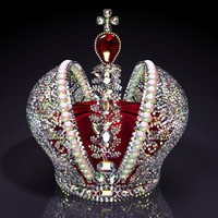 big imperial crown brilliants 3d model