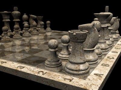 chess 3d max