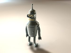 3d model of bender hdri