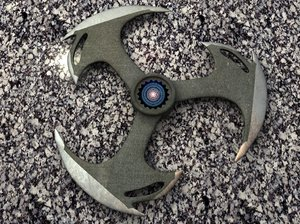 throwing blade movie 3d model