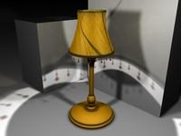 3ds max accent lamp
