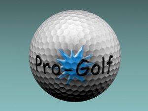 3ds golfball golf ball