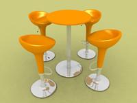 3d bombo furniture model