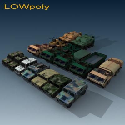 3ds max truck transporter tank