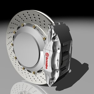 3d performance brembo brakes