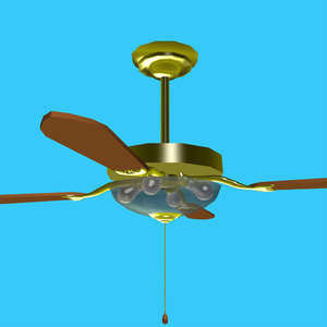 free 3ds mode fan ceiling