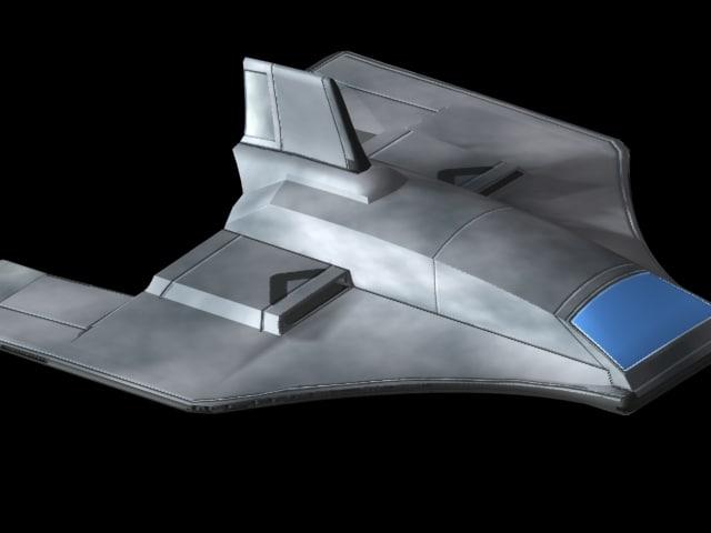 fighter aerospace cheetah 3d model