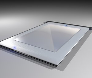 3d model hp scanner