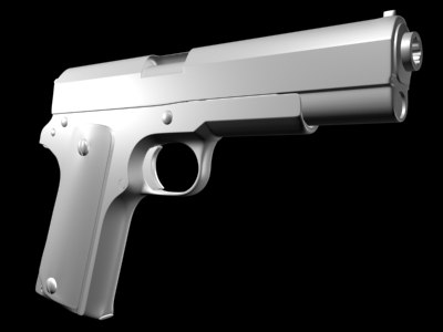 maya m1911 semi sidearm