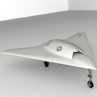 x-45c x-45 3d model