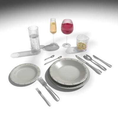 3d max plate set