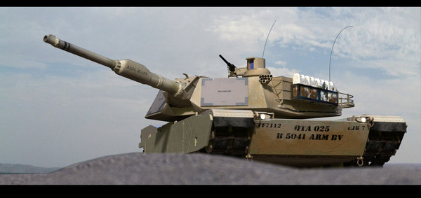 m1a2 battle tank mbt 3d model