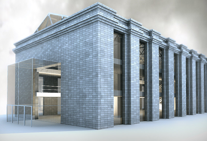 old building 3d max