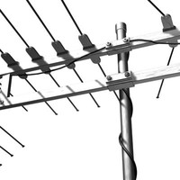 yagi antenna 3d model