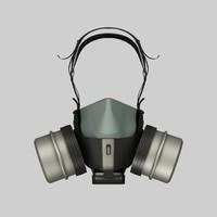 3d filter mask model