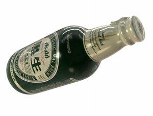 ashai beer bottle 3d lwo