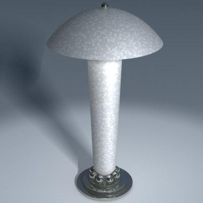 desk table lamp 3d model