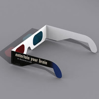 lightwave stereo anaglyphs glasses
