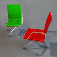 matteograssi mizar armchair mz05gr 3d model