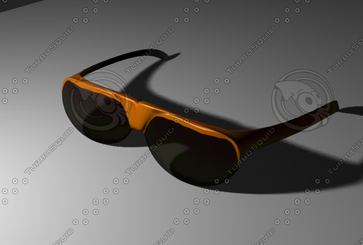 3ds max sun glass