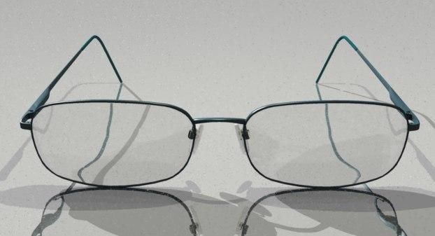 3d glasses giorgio armani model