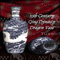 Chinese_QingDynasty_Dragon_Vase