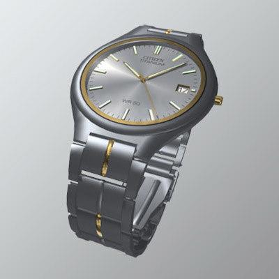 3d model of citizen watch