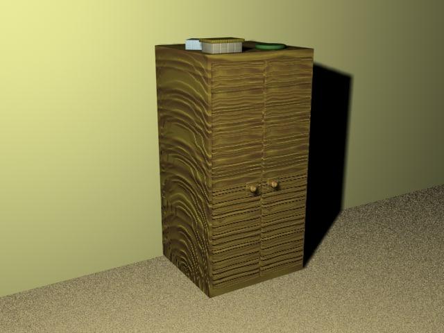 free cupboard 3d model