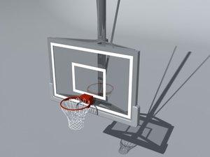 basketball rim 3d model