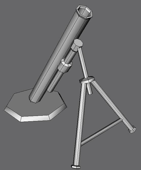 mortar 3d max
