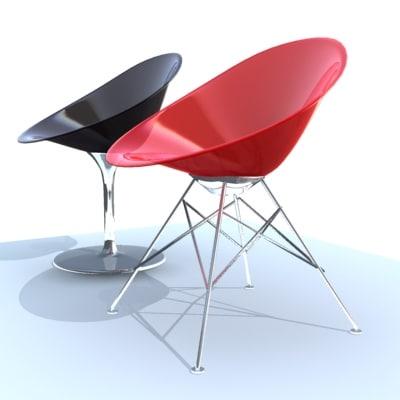3d model eros chair