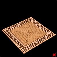floor tile 3d max