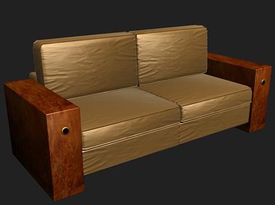 palace artdeco sofa 3d max