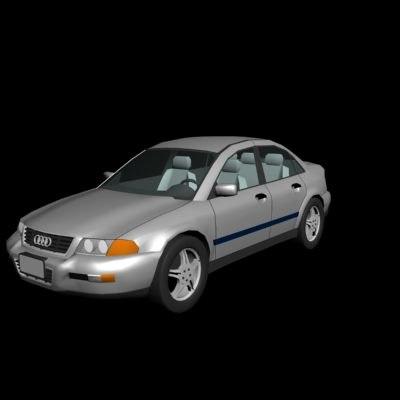 sedan 3d model