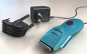hair trimmer 3d model