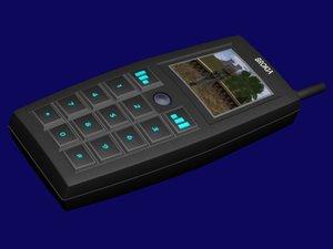 3d model cell phone