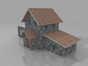 free polygons 3d model