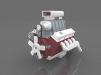 free ma mode v8 engine