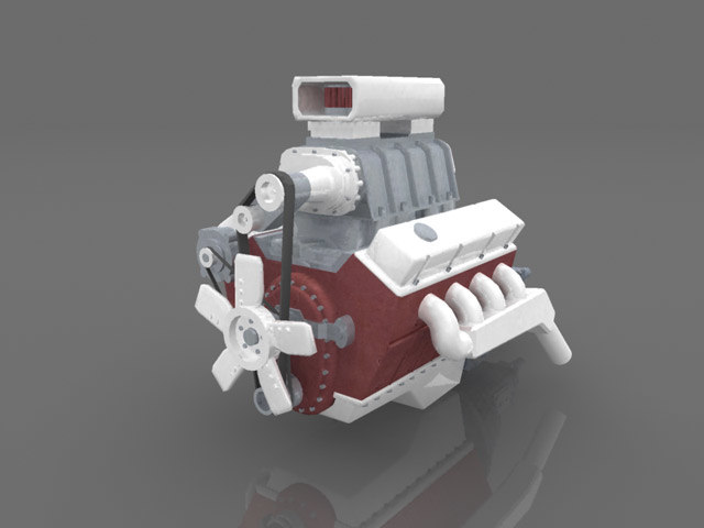 free ma mode v8 engine