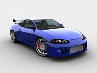 3d model mitsubishi eclipse