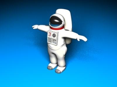 3d spacesuit space suit