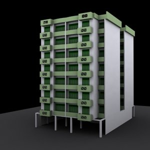 house scheme 3d model