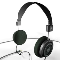headphones grado 3d model