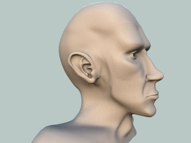 male head lwo