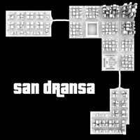 city san dransa skyscrapers 3ds