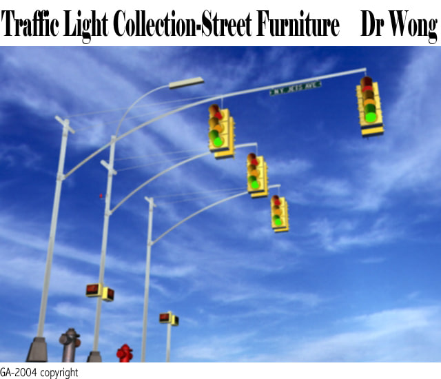 3d traffic light