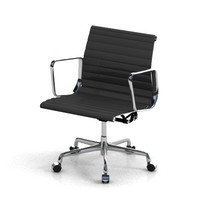 eames aluminum chair 3d model