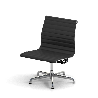 3ds eames aluminum chair
