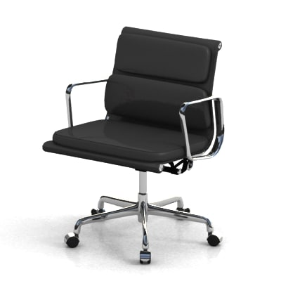 eames aluminum chair 3ds