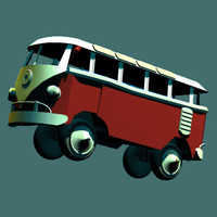 toy bus dxf